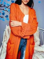 Pumpkin Spice Chunky Cardigan - Standout Style Boutique