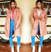 Cognac Trench Coat - Standout Style Boutique