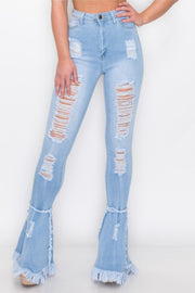 Jazzy Flare Jeans (S-2XL)
