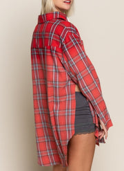 Nelly Plaid Shirt