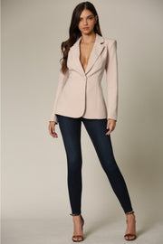 Elaina Lace-up Blazer