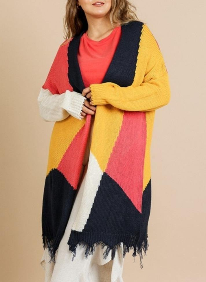 Caryn Cardigan (Curvy) - Standout Style Boutique