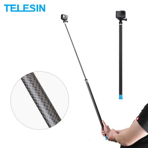PRO SERIES Super Long tot 270cm Selfie Stick voor GoPro / DJI OSMO / INSTA360 & Sports / Action Cameras