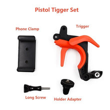 Afbeelding in Gallery-weergave laden, PRO SERIES Drijvende Bobber Hand Grip Stick Pole Handvat Trigger Sluiter Set voor Dome Port / Smartphones en Sports Action Cameras