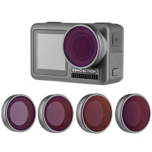 Afbeelding in Gallery-weergave laden, PRO SERIES  Set Lens Neutral Density Filter ND4 ND8 ND16 ND32 voor DJI Osmo Action Camera