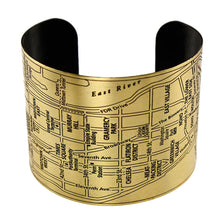 Load image into Gallery viewer, NYC Etched Cuff - UrbanroseNYC