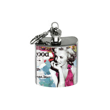 Load image into Gallery viewer, Altered Art Flask - Marilyn Monroe Collage II - UrbanroseNYC