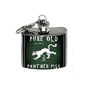 Altered Art Flask - Panther Piss - UrbanroseNYC