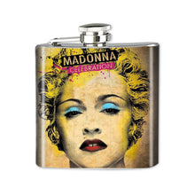 Load image into Gallery viewer, Altered Art Flask - Madonna - UrbanroseNYC