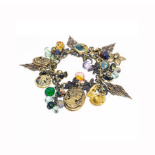 Load image into Gallery viewer, Vintage Style Charm Bracelet - Cameos & Lockets - UrbanroseNYC