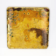 Load image into Gallery viewer, Gilded Coaster - Gustav Klimt Collection - UrbanroseNYC