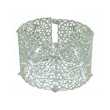 Load image into Gallery viewer, Filigree Magnetic Cuff Bracelet - UrbanroseNYC