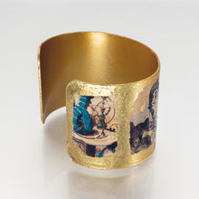 Load image into Gallery viewer, Gilded Cuff Bracelet - Alice in Wonderland - UrbanroseNYC