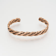 Load image into Gallery viewer, Solid Copper Bracelet - Women's Flattened Wire - UrbanroseNYC