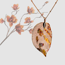 Load image into Gallery viewer, Real Leaf Pendant - Gilded, Large - UrbanroseNYC
