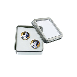Altered Art Cufflinks - Jim Morrison - UrbanroseNYC