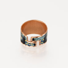 Load image into Gallery viewer, Copper Art Ring - Van Gogh Starry Night - UrbanroseNYC