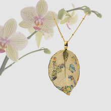 Load image into Gallery viewer, Real Leaf Pendant - Gilded, Small - UrbanroseNYC