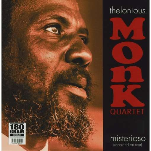 Thelonious Monk Quartet ‎– Misterioso (Recorded On Tour)