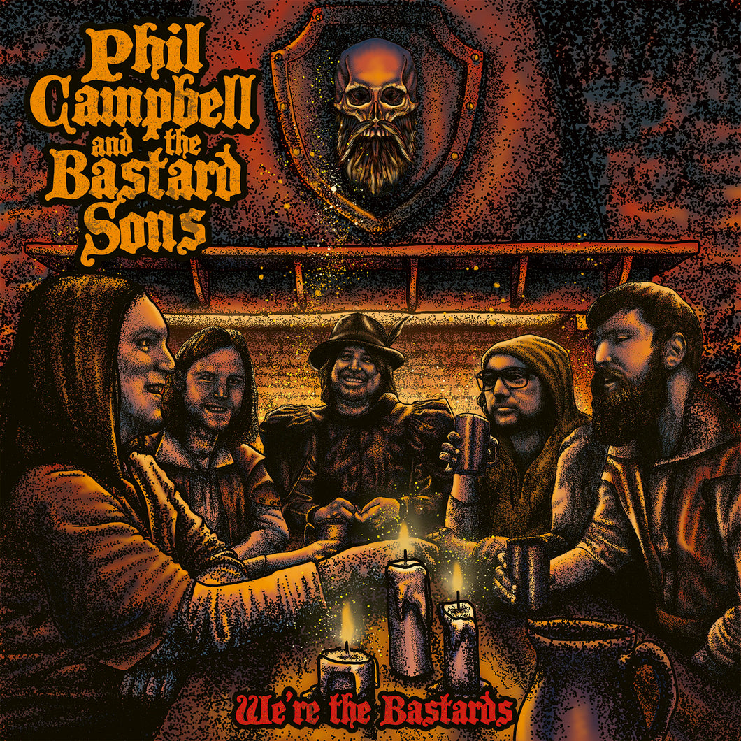 Phil Campbell & The Bastard Sons -  We Are The Bastards