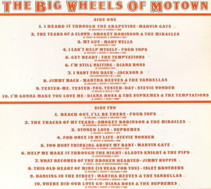 Various ‎– The Big Wheels Of Motown