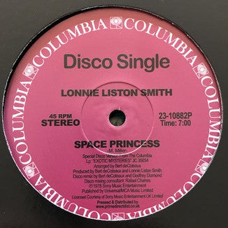 Lonnie Liston Smith ‎– Space Princess / Quiet Moments
