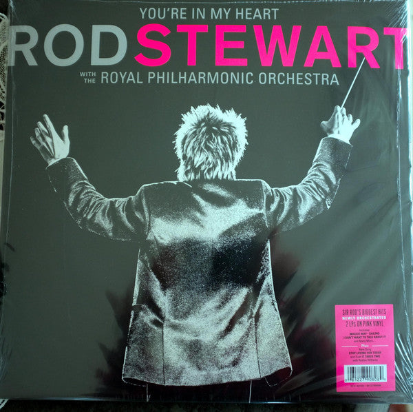 Rod Stewart With The Royal Philharmonic Orchestra ‎– You're In My Heart
