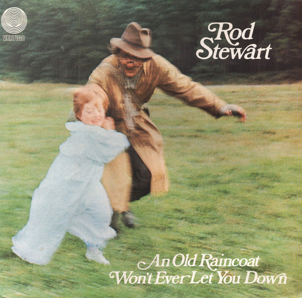 Rod Stewart ‎– An Old Raincoat Won't Ever Let You Down
