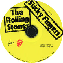Load image into Gallery viewer, Rolling Stones, The ‎– Sticky Fingers - CD Rare Japanese limited edition