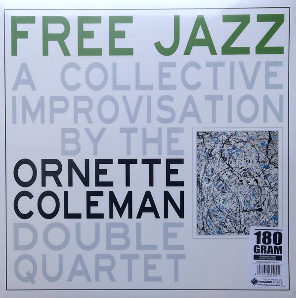 Ornette Coleman Double Quartet, The ‎– Free Jazz