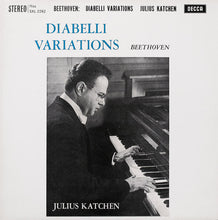 Load image into Gallery viewer, Julius Katchen ‎– Beethoven - Diabelli Variations
