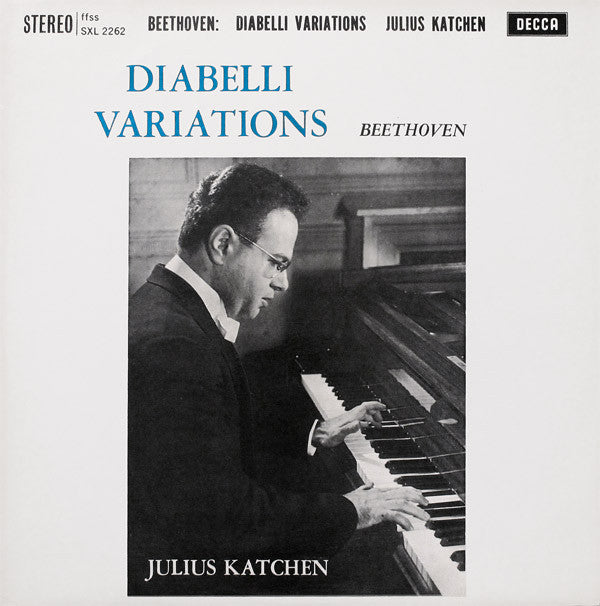 Julius Katchen ‎– Beethoven - Diabelli Variations