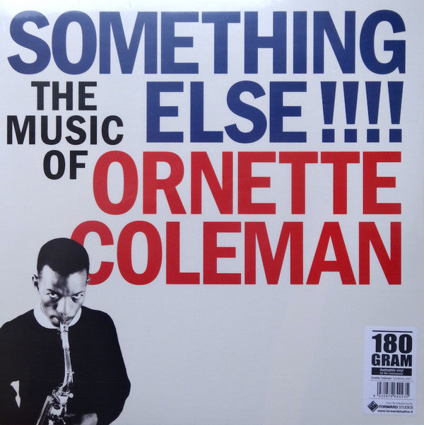 Ornette Coleman ‎– Something Else!!!!