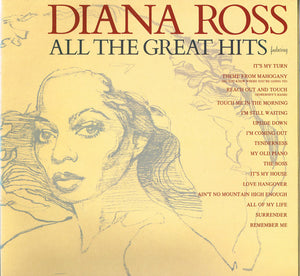 Diana Ross ‎– All The Great Hits