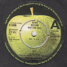 Load image into Gallery viewer, Paul McCartney & Wings  ‎– Jet / Let Me Roll It - PROMO