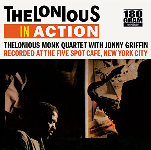 Thelonious Monk Quartet ‎with Johnny Griffin ‎– Thelonious In Action