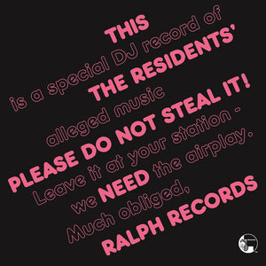 Residents, The ‎– Please Do Not Steal It!
