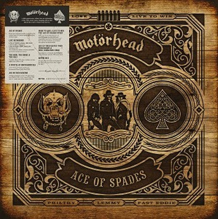 MOTÖRHEAD - ACE OF SPADES - 40th Anniversary Box Set