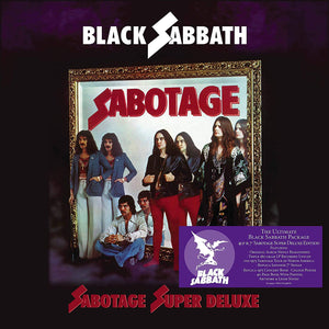 BLACK SABBATH - SABOTAGE (Remastered) - Super Deluxe (11/06/21)