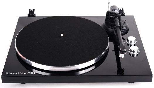 Turntable - Blue Aura Blackline PG1