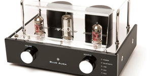 Home Audio System - Blue Aura Blackline