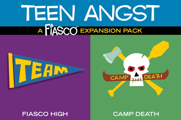 Fiasco: Teen Angst Expansion Pack