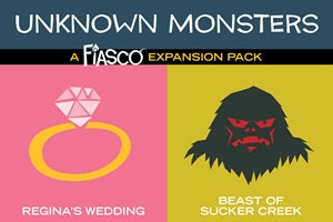 Fiasco: Unknown Monsters Expansion Pack