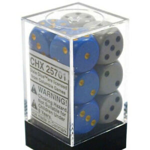 Chessex Dice: Opaque - 16mm D6 Dixie Dice (12)