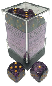 Chessex Dice: Speckled - 16mm D6 Hurricane (12)