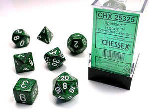 Chessex Dice: Speckled Polyhedral Set Recon (7)