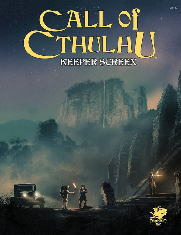 Call of Cthulhu: Keeper Screen Pack
