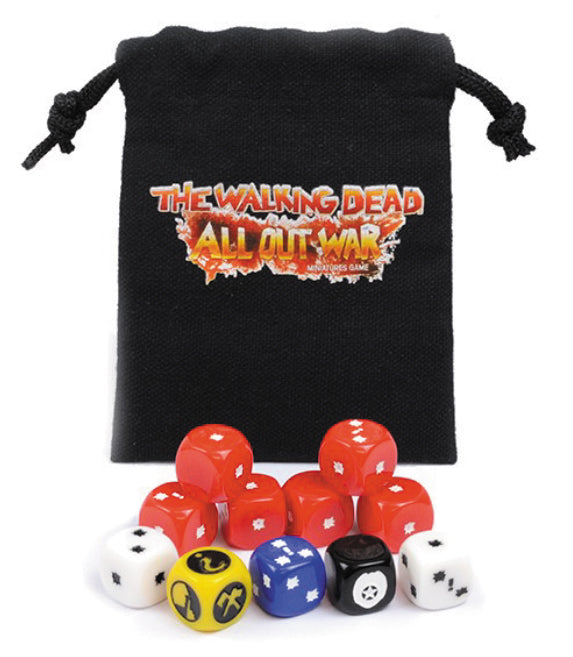 The Walking Dead: All Out War - Dice Booster Bag