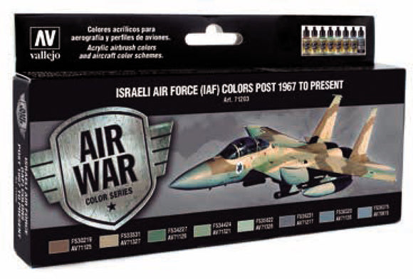 Model Air Set: Israeli Air Force Colors Post 1967 to Present