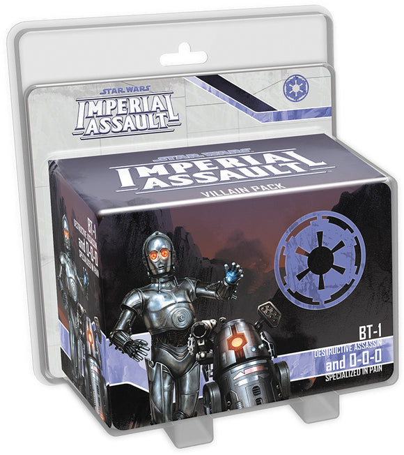 Star Wars: Imperial Assault - BT-1 and 0-0-0 Villain Pack